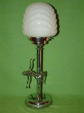 ART DECO LADY LAMPS #05