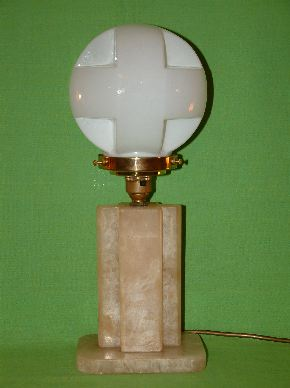 CHROME ART DECO LAMPS #16