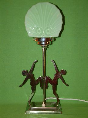 ART DECO LADY LAMPS #19