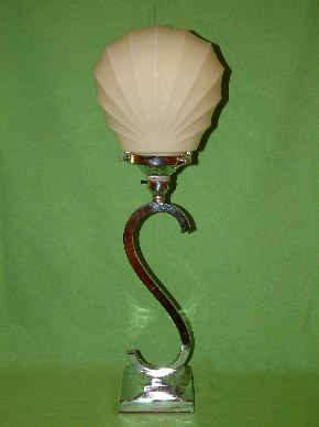 CHROME ART DECO LAMPS #01