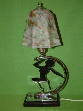 ART DECO LADY LAMPS #11