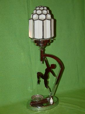 ART DECO LADY LAMPS #16