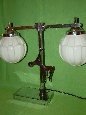 ART DECO LADY LAMPS #15